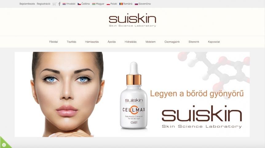 Suiskin.eu weboldal