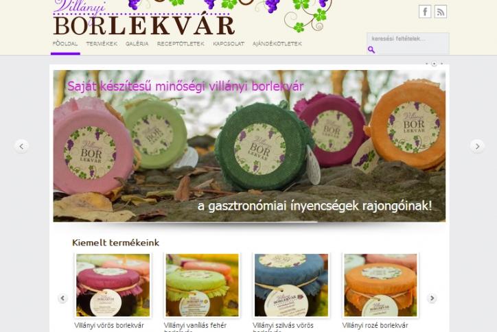 Webáruház: Borlekvar.com