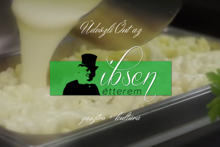 Ibsen étterem honlapja